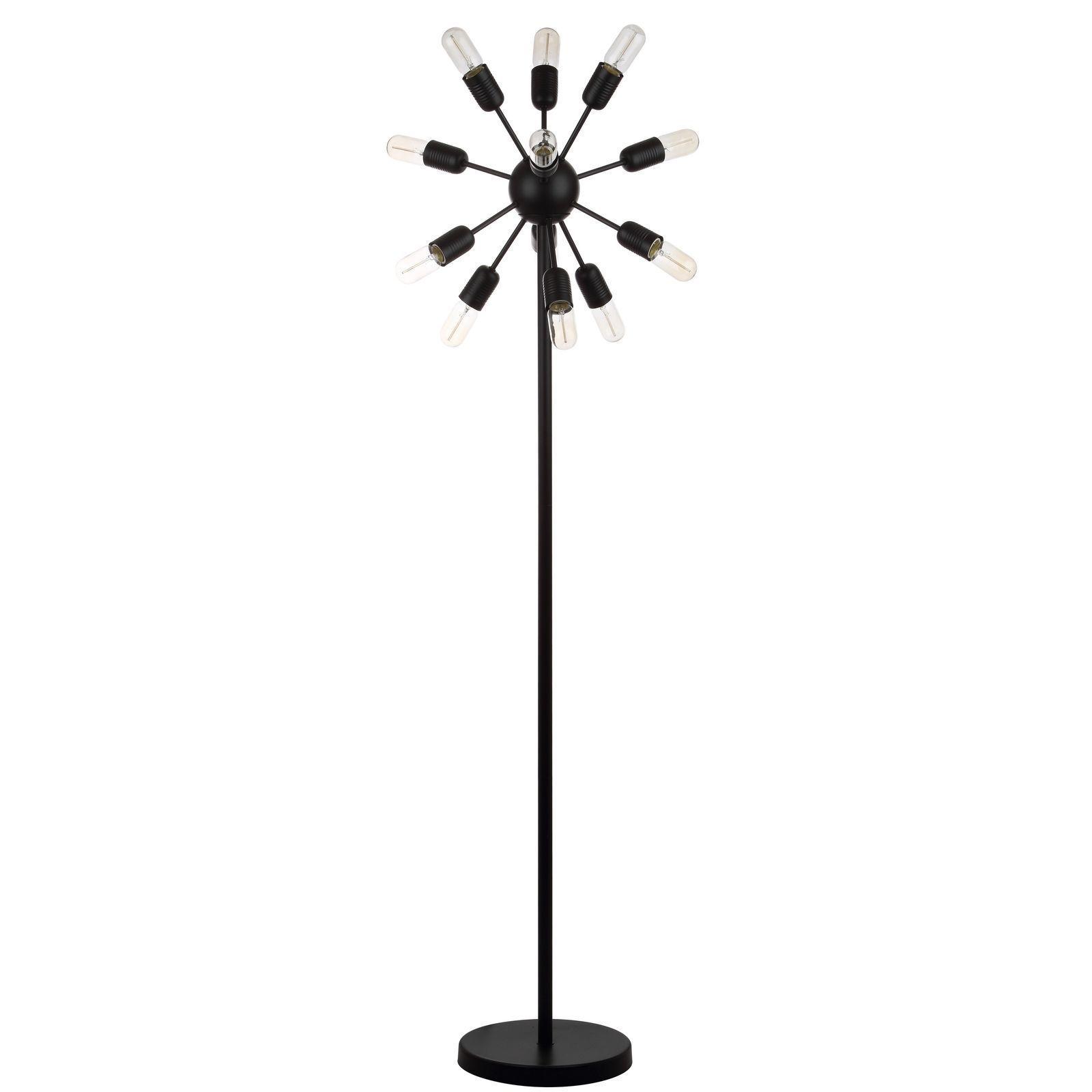 "Safavieh Lighting Urban 12-light Retro Edison Bulb Floor Lamp  67.5"""