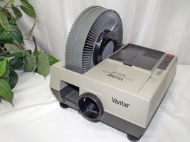 Vintage Vivitar 3000AF Auto Focus Slide Projector w/ Corded Remote - NICE - $49.00