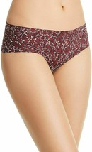 Calvin Klein Burgundy Wine Invisibles Hipster In Layered Starburst D3508-601 XS image 1