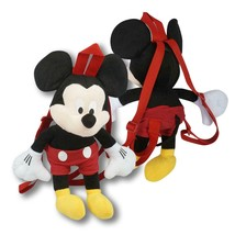 "Mickey Mouse Plush Backpack New Disney 16"" High  - $19.79"