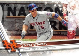 2017 Topps Holiday Snowflake #HMW68 David Wright > New York Mets - $0.99