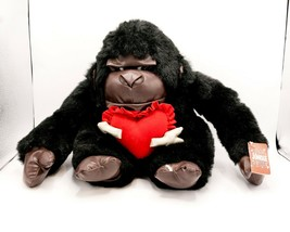 Lg Vintage 1997 Joelson Industries Gorilla Valentines Jungle Out There P... - $19.95