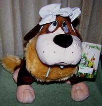 "Disney Store Peter Pan NANA St Bernard Dog 12.5"" Plush New - $26.50"