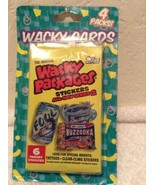 4 WACKY PACKAGES ALL-NEW SERIES 2 (Topps, 2005)--Unopened Packs - $8.95
