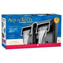 Aqua-Tech Power Aquarium Filter 3-Step Filtration, 30-60 Gallons - $40.09