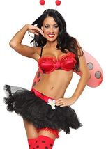 Sexy Lady Bug Costumes - $69.00