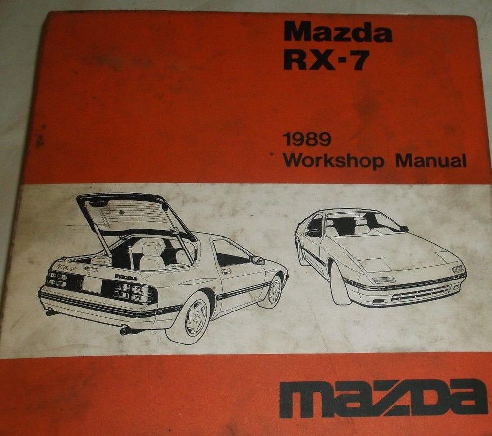 1989 mazda rx 7 rx7 service repair workshop and 49 similar items1988 Mazda Rx7 Rx7 Workshop Shop Service Repair Manual Set Wiring #7
