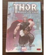 Thor: God of Thunder The God Butcher Hardcover Graphic Novel - $16.00