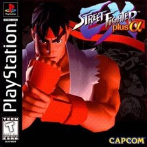 Street Fighter EX Plus Alpha PS1 Great Condition Fast Shipping - $29.93