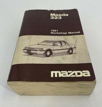 1991 Mazda 323 Workshop Manual Service Shop Repair Paper Book - $43.00