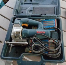 Pre-Owned Bosch 1587AVS Jigsaw - With Case - 30 Extra Blades - VG WORKIN... - $168.29
