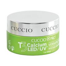 Cuccio Pro T3 Calcium LED/UV Versatility Gel, White  1 oz