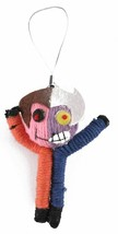 """DC Comics 2.5"""" Two-Face Batman String Doll Keychain Voodoo Phone Charm Figure NW image 1"""