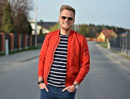 Bnwt Zara Man Bomber Style Jacket RED-BLUE-SAND-KHAKI Ref. 0706/400 & 0706/499 - $49.99