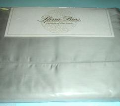 Sferra ELYSE Queen Sheet Set GREY Egypt Cotton Sateen Hemstitched 300TC ... - $259.90