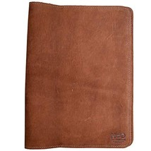 Hide & Drink, Rustic Leather Refillable Journal Cover for Moleskine Cahier XL 7.