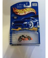 Hot Wheels 2001 Go Kart Collector # 141 Orange Race Kart New - $8.59