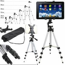"Universal Tripod Stand Mount Holder 7"" 10.6"" Tablet Apple Samsung Huawei... - $17.94"