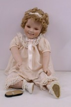 Vintage Shirley Temple GreenEyes Collection, Porcelain Doll, Danbury Mint 1996 - $30.00