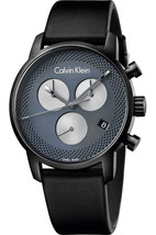 Calvin Klein K2g177c3 City Black Chronograph Watch - $387.55