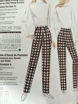 Vogue Sewing Pattern Misses Fitting Shell 1003 Individual Pants Size 12 New - $14.90