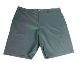Callaway Mens Flat Front Golf Shorts 42 Grey OptiDry Stretch NWT $85 - $35.63