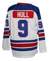 Custom Name # Jets Wha Retro Hockey Jersey New White Bobby Hull Any Size image 2