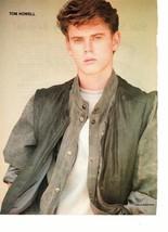 C Thomas Howell teen magazine pinup clipping Grey Jacket Teen Beat