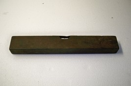 "Antique Henry Disston And Sons 14"" Wood And Brass Level  - $17.41"