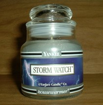 NEW Yankee Candle Storm Watch 3.7oz Jar Candle - $14.80