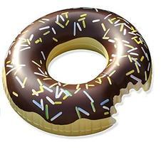 Swim About Large Donut Swim Ring Tube Pool Beach Inflatable Floats for Adults Wo