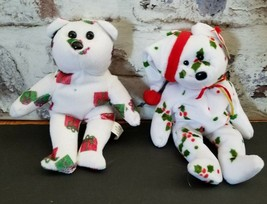 Ty Teddy Bear Buddy And Beanie Baby 1998 Holiday - $11.98