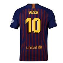 2018-2019 Barcelona Home Nike Football Soccer T-Shirt Jersey (Lionel Mes... - $93.09