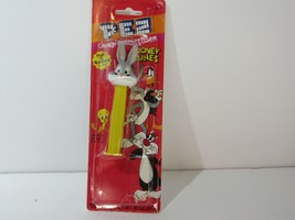 1995 PEZ Candy and Dispenser Looney Tunes Edition: Bugs Bunny - NEW - $12.30