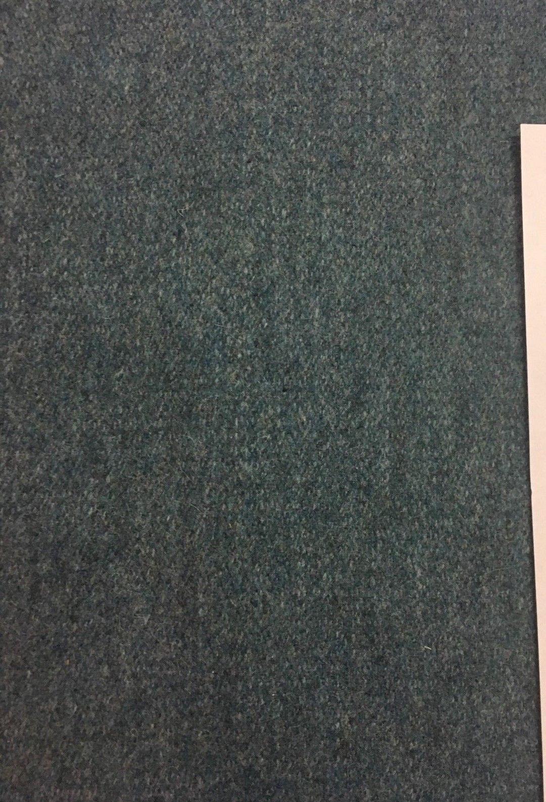 Twill Upholstery Fabric Rich Blue Wool 7.125 yds B