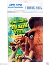 Hallmark Ice Age Dawn Of The Dinosaurs Movie 8 Count Greeting Thank You ... - $4.99