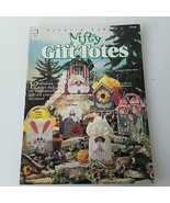 Plastic Canvas Nifty Gift Totes #181058 Designs by Kathy Wirth - $11.39