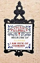 Trivet Kitchen Closed because of ILLNESS- I am Sick of COOKING AA18 - 1134 image 2