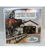 Covered Bridges & Fall Foliage Sawyers View-Master MIP Never Opened T21 - $24.26
