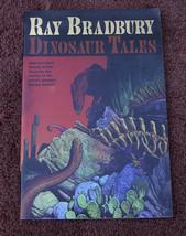Ray Bradbury DINOSAUR TALES, 1st large paperback ed, SIGNED as new. - $56.84