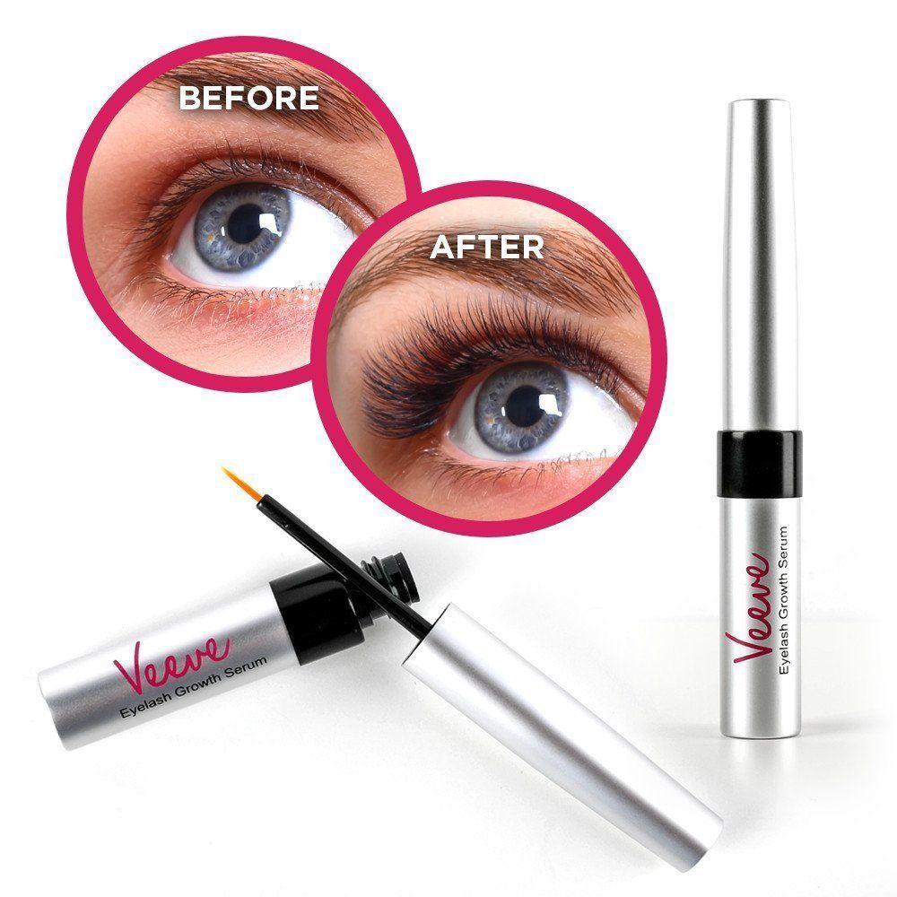 Veeve Cosmetics Eyelash & Eyebrow Growth Serum - Clinically Formulated & Tested