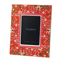 Wedgwood Wonderlust Crimson Jewel pretty Picture Frame, New in Box - $65.33