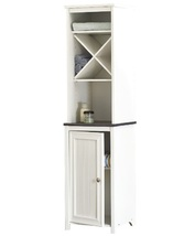 Narrow bathroom storage cabinet alone thumb200