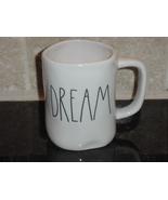 Rae Dunn DREAM Mug, Ivory with Black Lettering - $12.00