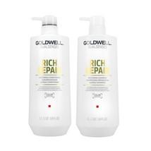 Goldwell Dualsenses - Rich Repair Restoring Shampoo & Conditioner Liter Duo