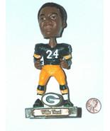 "Green Bay Packers Legends of Lambeau #24 Willie Wood 5"" Resin Figure Bob... - $18.11"