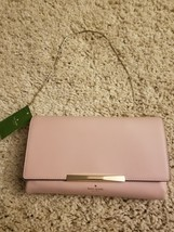New kate spade hanley Handbag Clutch pink - $197.51