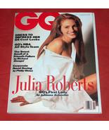 RARE GQ Magazine February 1991 JULIA ROBERTS GQ's First Lady Cover VG CN... - $18.58