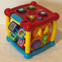Vtech Busy Learners Activity Cube Developmental Educational Toy for Baby Toddler - $9.99