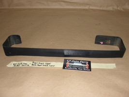 64 Cadillac Sedan Deville Right Front Upper Bench Seat Track Trim Cover Dk. Blue - $49.99
